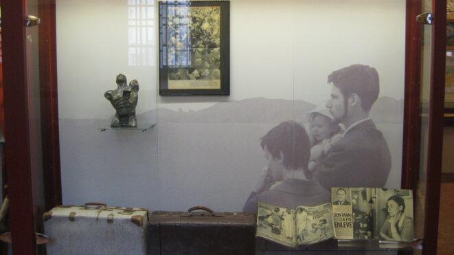 Une vitrine du CDFA. © NcaL /MP