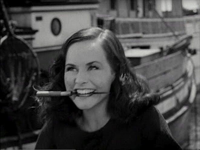 Paulette Goddard dans The Kid © Charles Chaplin