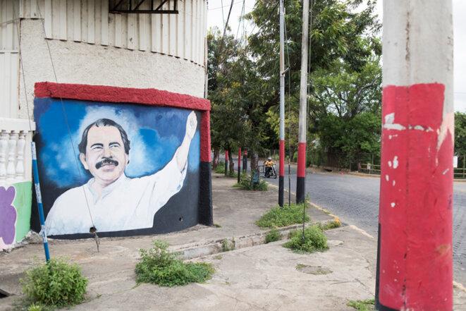 Daniel Ortega, omniprésent sur les murs des villes du Nicaragua © Jean de Peña - Collectif À-vif(s)