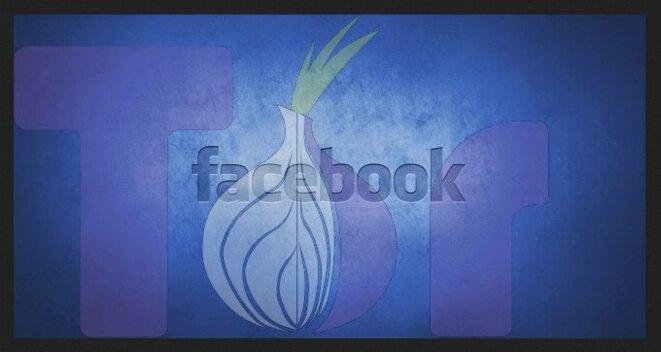Facebook via Tor © www.cyberkendra.com