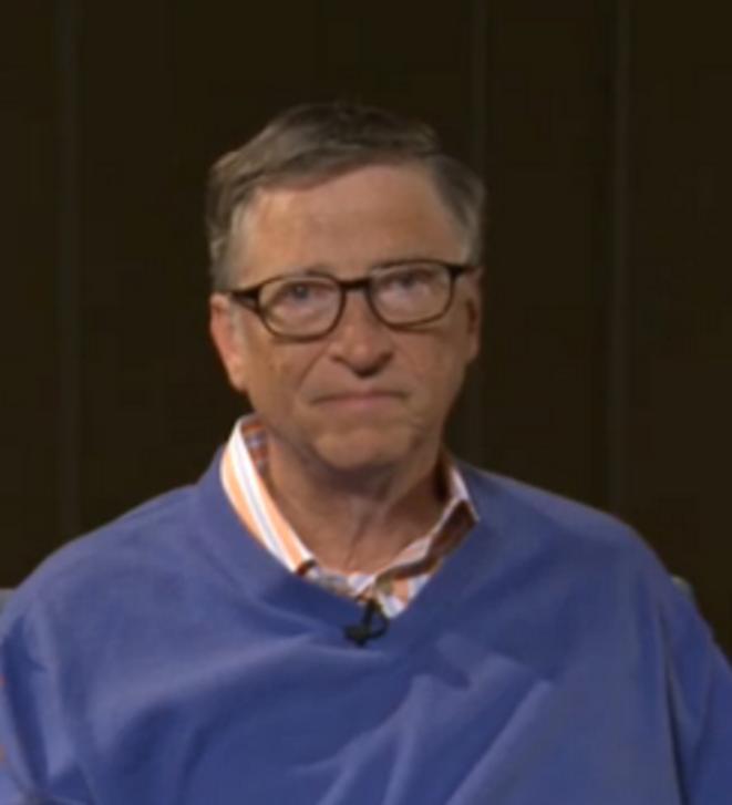 Bill Gates -capture vidéo FT-