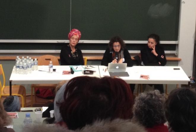 Françoise Vergès, Nacira Guénif-Souilamas et Houria Bouteldja © SA