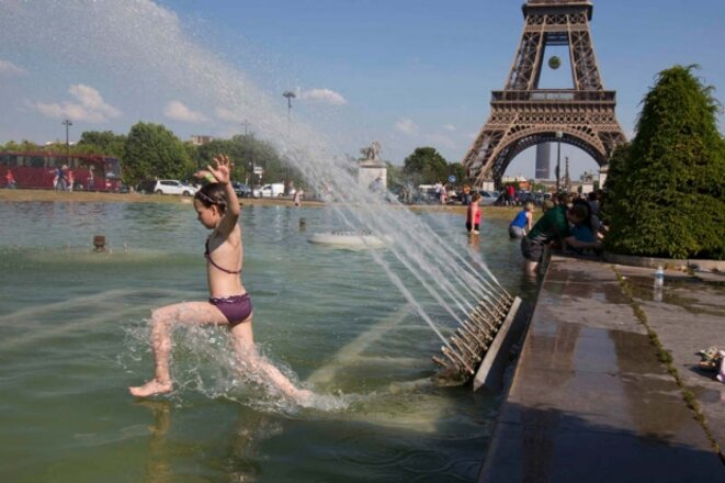Chaleur inhabituelle à Paris, le 5 juin 2015 © Reuters