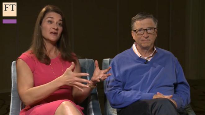 Bill et Melinda Gates, interview FT