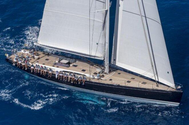 Le yacht Cape Arrow a été livré en avril 2011 à un mystérieux acheteur dissimulé derrière un trust irlandais © DR