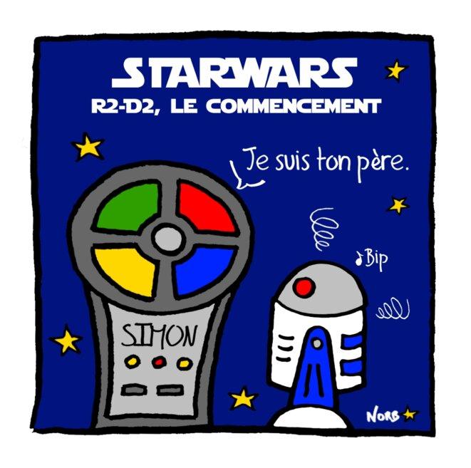 Starwars: R2-D2, le commencement! © Norb