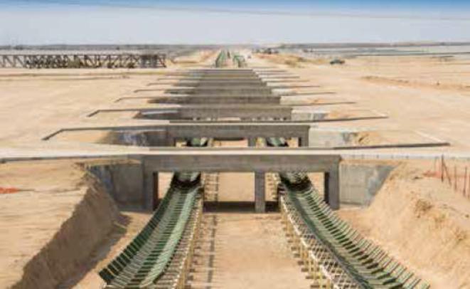 L'exploitation du gisement namibien de Trekkopje a été suspendue par Areva en 2012, après que le groupe y a investi 835 millions d'euros © Areva