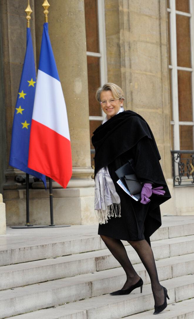 Michèle Alliot-Marie, le 17 novembre 2010. © Reuters