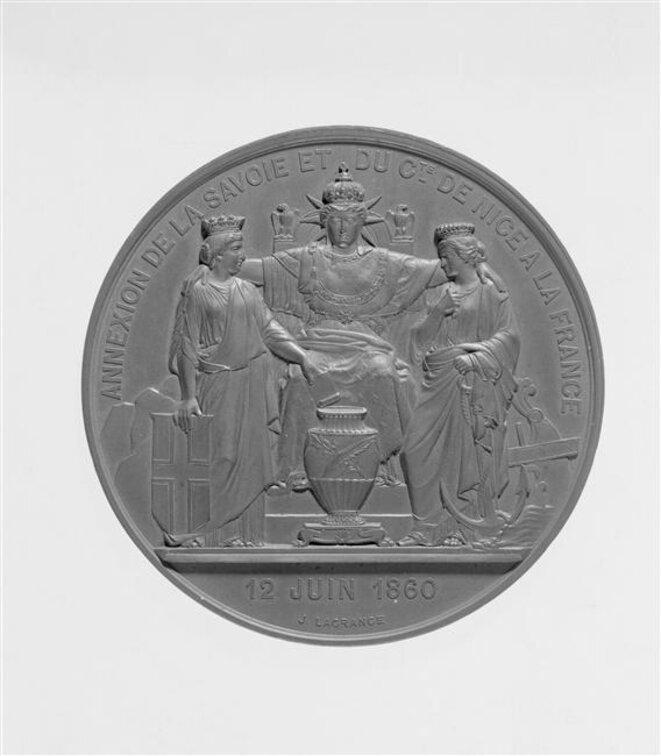 Annexion de la Savoie et du Comté de Nice - Paris, musée d'Orsay