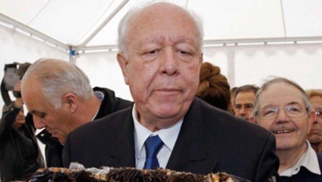 Jean-Claude Gaudin, président du groupe UMP du Sénat de 2011 à 2014 © Reuters