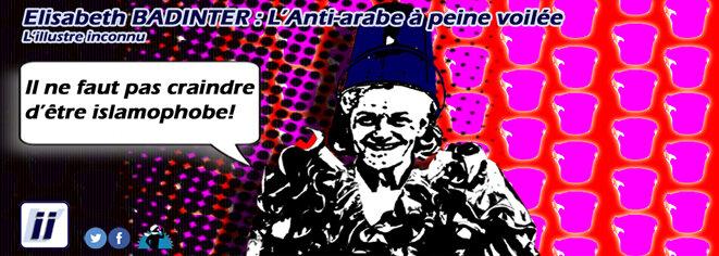 Elisabeth Badinter – Le sentiment Anti-arabe à peine voilée © Danyel Gill