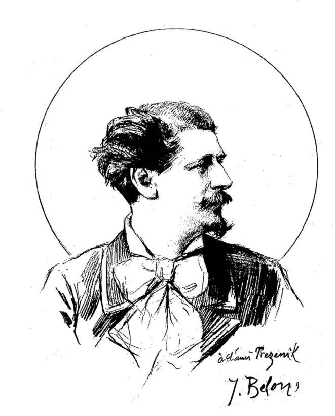 Portrait de Trézenik, par Belon