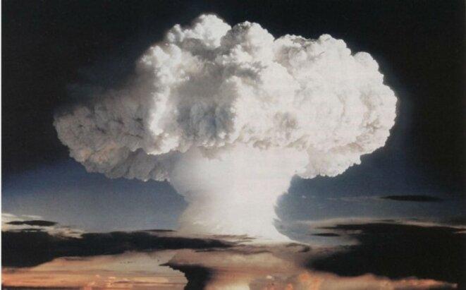 Le premier essai d'une bombe H a été réalisé par les États-Unis en 1952 © DR