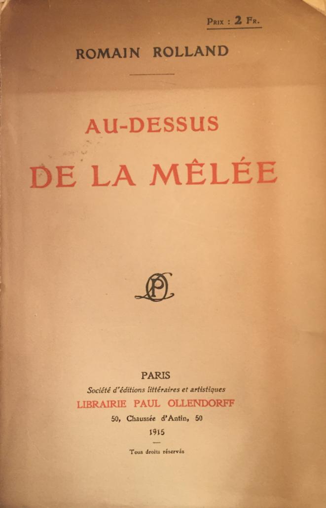 L'édition originale de novembre 1915.