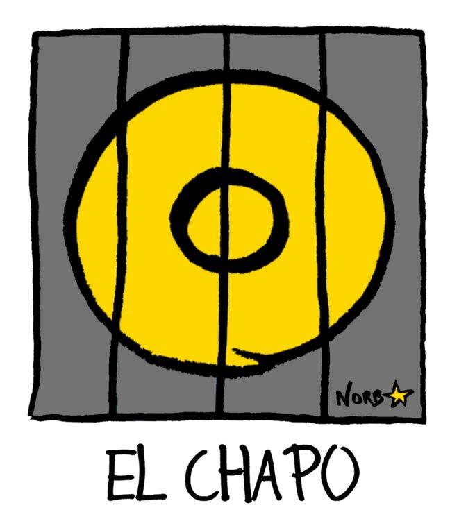 Le parrain mexicain El Chapo derrière les barreaux! © Norb