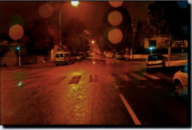 Au croisement des rues Abel Bonneval et Jules Auffret, à Noisy-le-Sec. C'est là que le policier et le fugitif se seraient retrouvés face à face.
