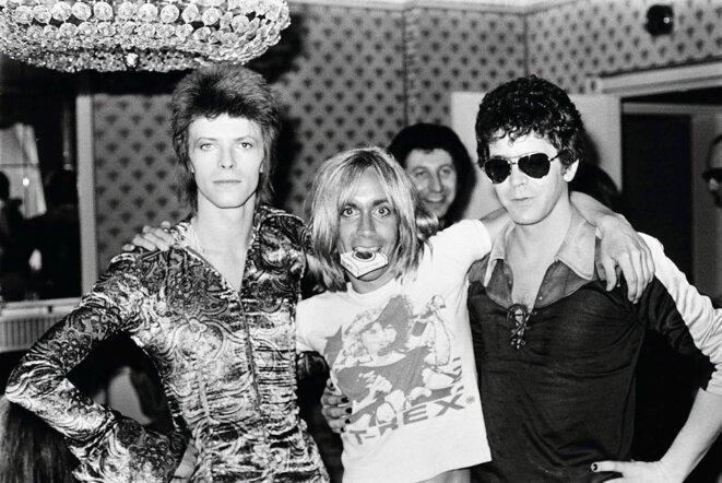 Avec Iggy Pop et Lou Reed