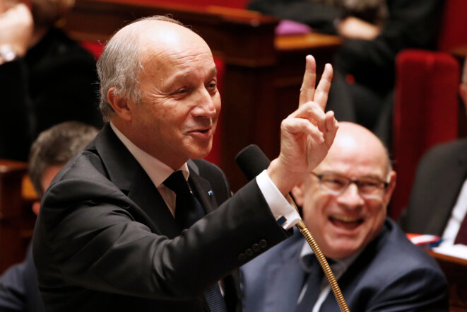 French foreign affairs minister Laurent Fabius. © Reuters
