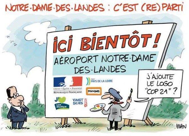 Pour le climat, abandonner l'aéroport de Notre-Dame des Landes !
