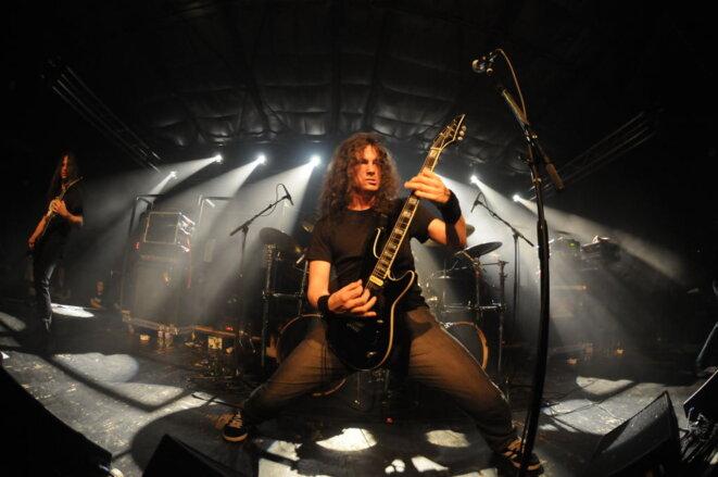 Gojira, groupe de metal français, sur scène