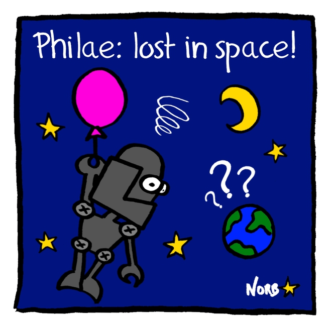 Philae: lost in space! © Norb