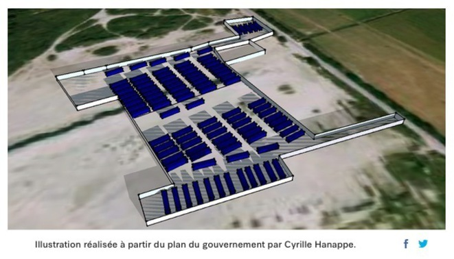 À Calais, un camp des années 30 © Cyrille Hanappe