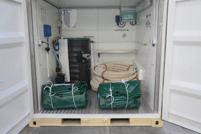 système d'approvisionnement en eau © Logistic Solutions