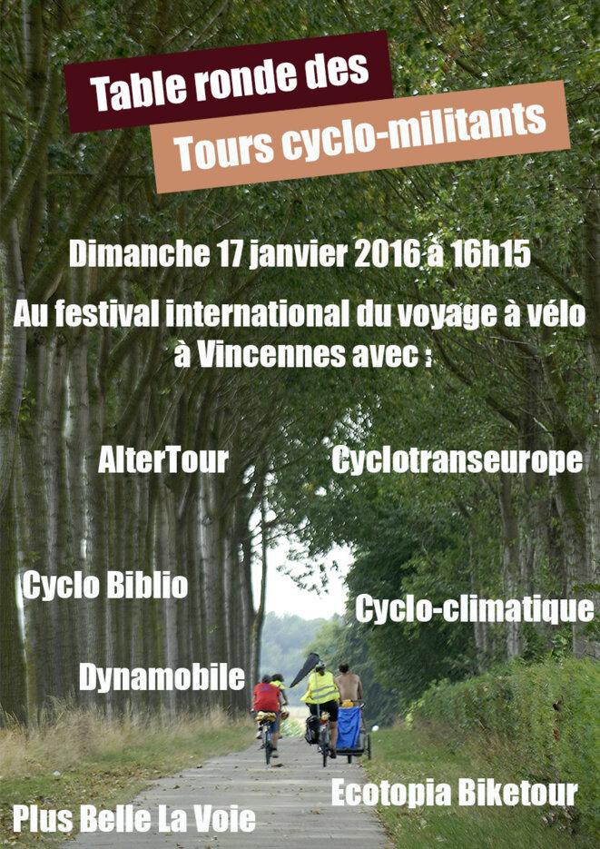 Table ronde des tours cyclo-militants © AlterTour