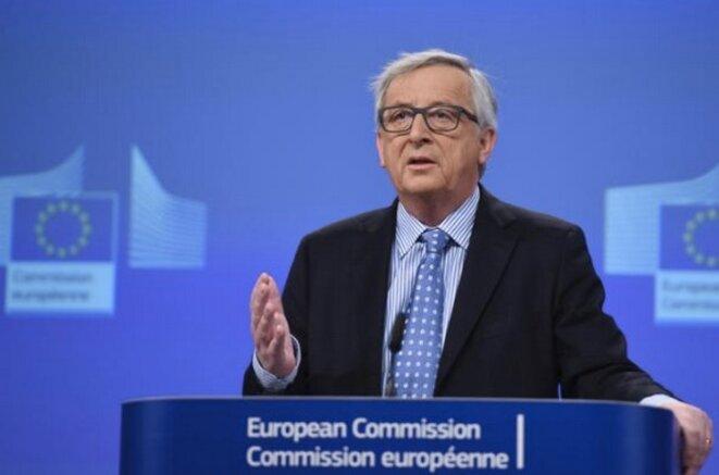 Jean-Claude Juncker le 15 janvier 2015 à Bruxelles. © EC.