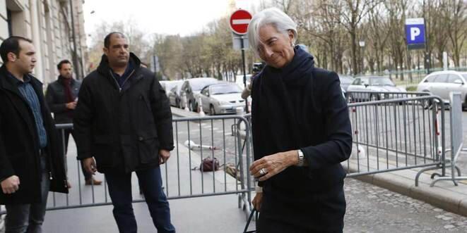 Christine Lagarde en su llegada a la Corte de Justicia, el 19 de marzo de 2014. © Reuters
