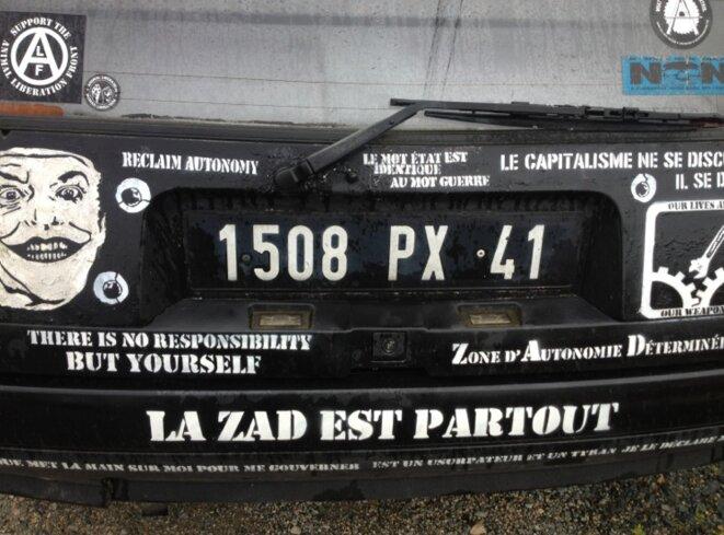 Sur la ZAD, mai 2013 (JL).
