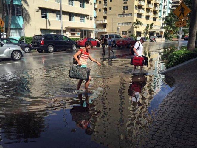 Miami Beach, septembre 2015 © Emily Michot, Miami Herald