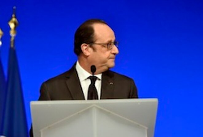 François Hollande © AFP