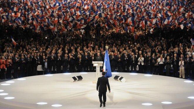 Le meeting de Villepinte aurait coûté plus de 6 millions d'euros (conseil national de l'UMP compris) © Reuters