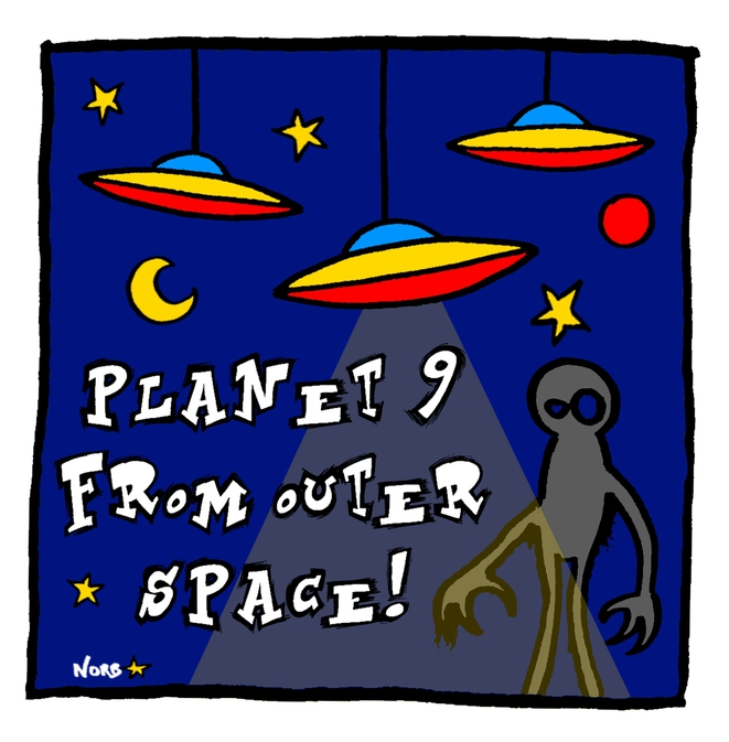 Planet 9 from outer space! © Norb