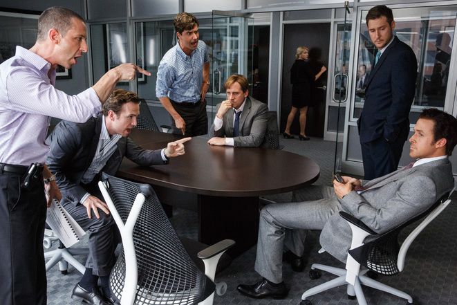 Extrait de «The Big Short» adaptant un essai de Michael Lewis.
