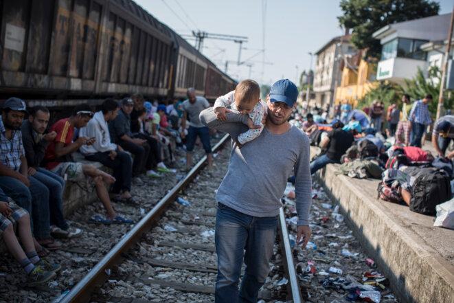 Balkan Transit © Olivier Jobard