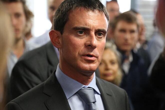 Manuel Valls en octobre 2014 © Briand (CC)