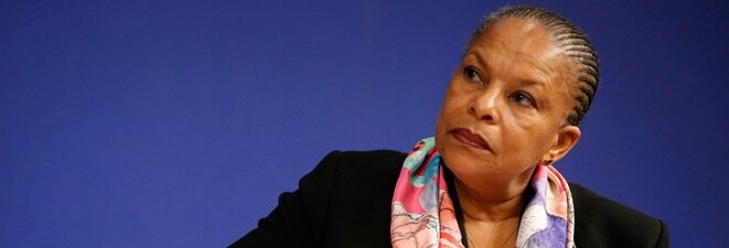 Gone: left-wing justice minister Christiane Taubira.