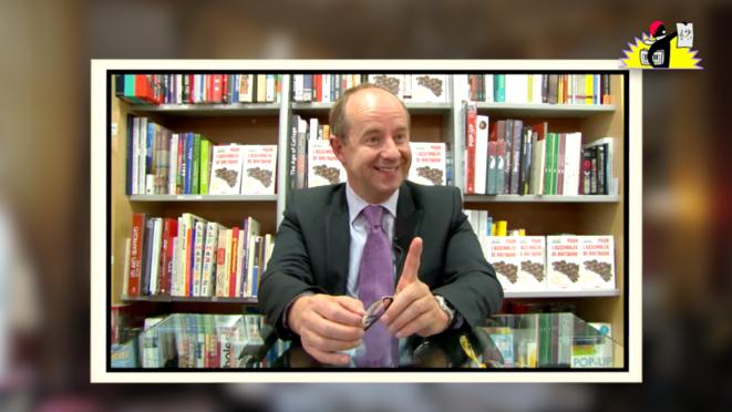 Portrait vidéo de Jean-Jacques Urvoas