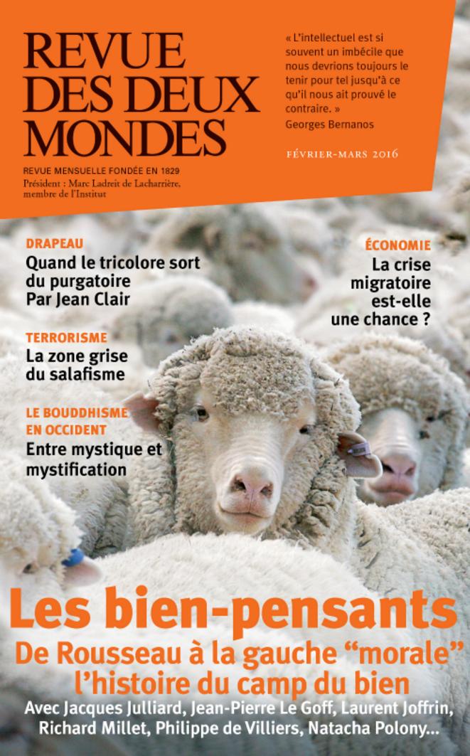 Couverture du numéro de février-mars 2016 de La Revue des Deux Mondes