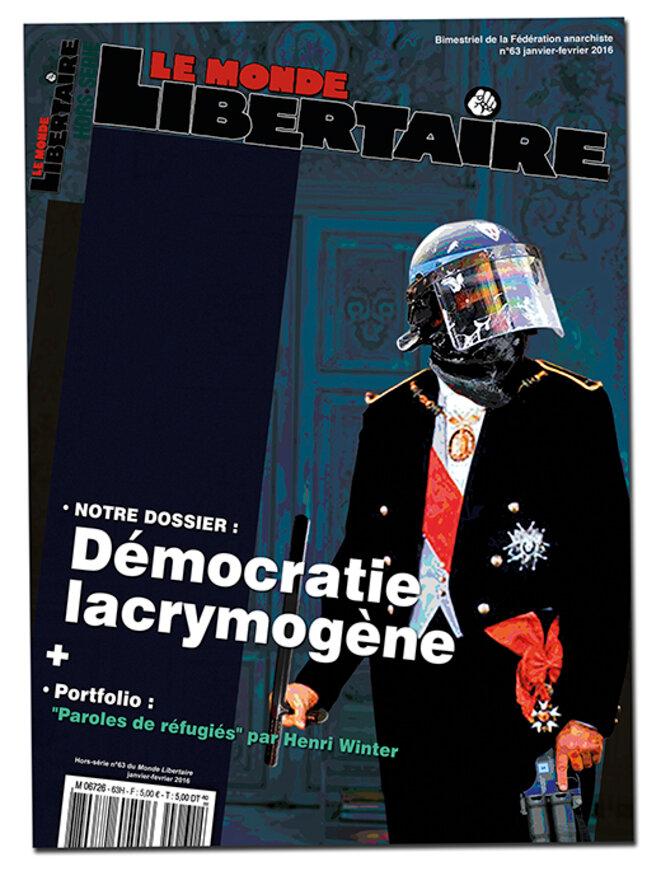 Monde Libertaire Hors Série N°63, janvier-fevrier 2016 © p.k