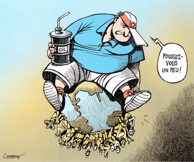 L'épuisement des ressources naturelles © Chamatte