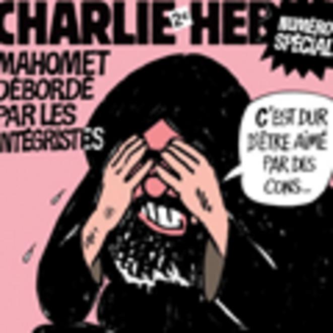 Un dessin de Cabu paru en Une de Charlie Hebdo