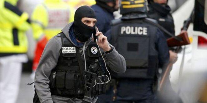 Le 18 novembre 2015 à Saint-Denis (93) © Reuters