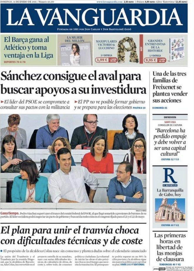 « Sánchez obtient le feu vert pour chercher des soutiens à son investiture »