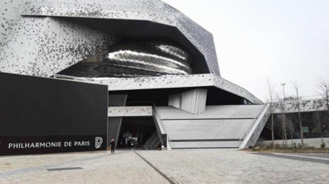 la Philharmonie de Paris © Jean-Pierre Charbonneau