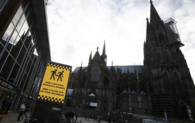 Près de la cathédrale de Cologne, le 4 février 2016. © Reuters
