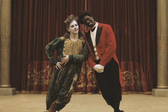 Omar Sy et James Thierrée, dans «Chocolat », de Roschdy Zem