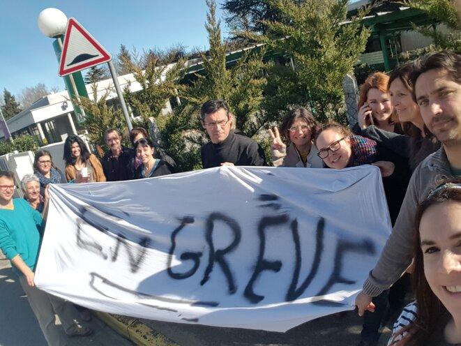 Fin de la grève au collège Louis Pasteur. © Equipe Pasteur Lavelanet
